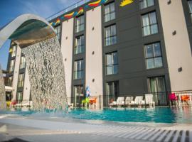 Garni Hotel Hollywoodland Wellness & Aquapark, hotel near Belgrade Nikola Tesla Airport - BEG,