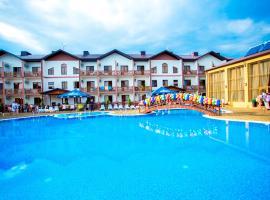 Hotel Zolotoy Bereg, отель в Анапе