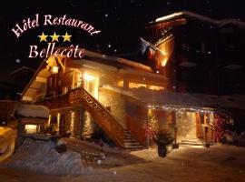 Hôtel & spa Bellecôte, hôtel à Montchavin