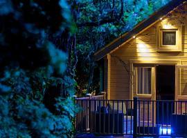 Alum Chine log cabin, hotel near The Italian Villa, Bournemouth