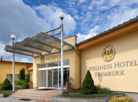 Wellness Hotel Frymburk, hotel ve Frymburku