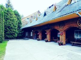 Kryzbarkas, country house in Degučiai