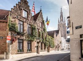 Hotel De Castillion - Small elegant hotel, hotel near Bruges Train Station, Bruges
