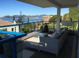 Residence Paradis Bleu, accessible hotel in Cannes