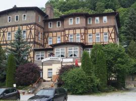 Appartementanlage Hermannshöhle, Hotel in der Nähe von: Huysburg, Höhlenort Rübeland