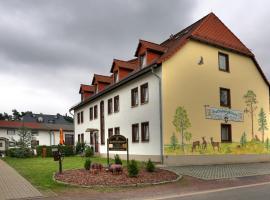 Gasthof Fuchsbergklause, Hotel in der Nähe vom Flughafen Dresden - DRS,