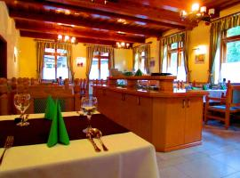 Odvaskő Étterem és Panzió, hotel Bakonybélen