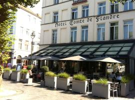 Hotel Graaf Van Vlaanderen, hotel dicht bij: Lampenmuseum Lumina Domestica, Brugge