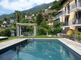 Apartments Casa Ghiggi, hotel in Brissago