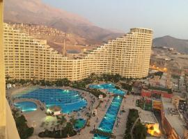 Apartment at Porto Sokhna Pyramids - (Families Only), cabin in Ain Sokhna