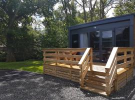 Inverbeg Holiday Park, glamping site in Luss