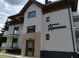Apartamenty Kapitanskie, Ferienwohnung in Iława