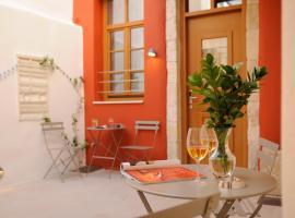 Veranda Rossa Suites, appartamento a Rethymno