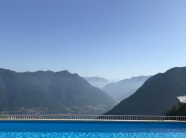 Hotel Paradiso Como, hotell i Brunate