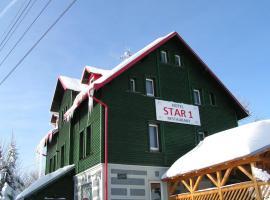 Hotel Star 1,2, hotel near Skiareal Klinovec, Vejprty