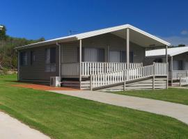 Corrimal Beach Tourist Park, resort village in Wollongong