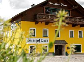 Gasthof Post, hotel u gradu Peilstein im Mühlviertel