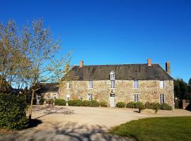Le Manoir de Herouville, hotel in Litteau
