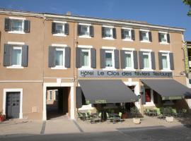 Logis Hotel Le Clos Des Oliviers, hôtel à Bourg-Saint-Andéol