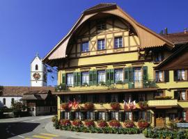 Hotel Bären, отель в городе Sumiswald