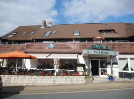 Hotel Cafe Bothe, hotel in Wolfshagen