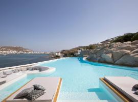 Dreambox Mykonos Suites, hotel v destinácii Ornos