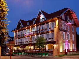 Hotel Des Bains, hôtel à Gérardmer