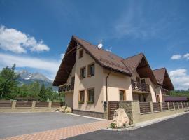 Vila Kamah, privát v Tatranskej Lomnici