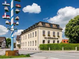 Hotel Grünwald, hotel near Rowing Course Oberschleißheim, Munich