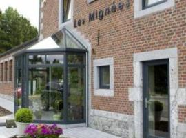 Hotel Les Mignees, hotel near Wallonie Expo, Barvaux