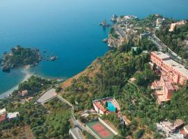 Grand Hotel Miramare, hotel near Isola Bella, Taormina