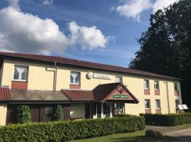 Hotel und Appartements Jägerhof Rügen, viešbutis mieste Lankenas-Granitcas