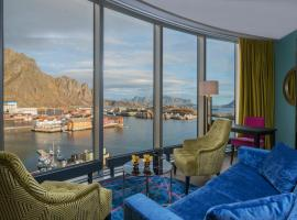 Thon Hotel Lofoten, hotell i Svolvær
