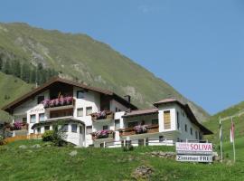 Ferienresidenz Soliva, Hotel in Samnaun