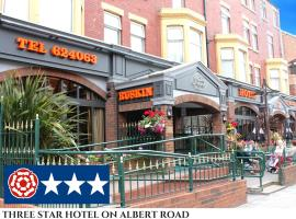 Ruskin Hotel, hotel in Blackpool