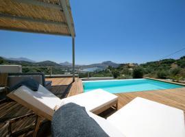Villa Nissos, hotel with pools in Plakias