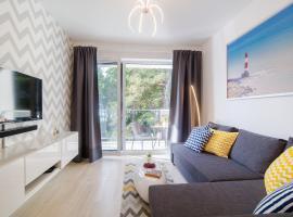 APFORTY4YOU, hotel with jacuzzis in Ustronie Morskie