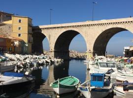 Cabanon de pêcheur, location de vacances à Marseille
