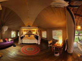 Eden Lodge, hôtel à Madirokely