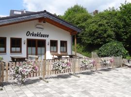 Ferienhaus Orkeklause, accessible hotel in Winterberg