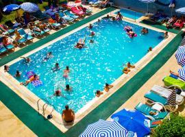 Grand Horizon Apart Hotel, отель в городе Аланья, рядом находится Alanya State Hospital