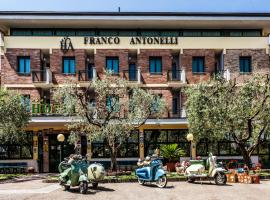 Hotel Franco Antonelli、アッシジのホテル