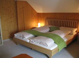 Zimmer, z'Morgä & z'Nacht Schönenboden, hotel near Säntis, Wildhaus