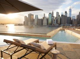 1 Hotel Brooklyn Bridge, luxury hotel in Brooklyn