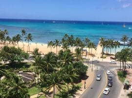 Prime Location & Great View, serviced apartment in Honolulu