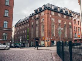 Hotel Anna, hotelli Helsingissä lähellä maamerkkiä Hakaniemen metroasema
