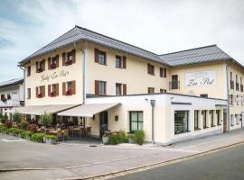 Gasthof - Hotel Zur Post, hotel near Klessheim Castle, Neukirchen am Teisenberg