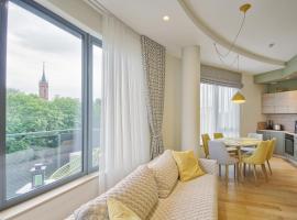 Korio Apartments, Druskininkai – hotel w pobliżu miejsca Centrum rekreacyjne AQUA w Druskienikach w Druskienikach
