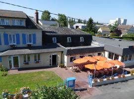 Hotel Restaurant des 4 Ecluses, hotel cerca de Château Gaillard, Gaillon