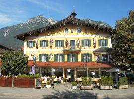Atlas Posthotel, hôtel à Garmisch-Partenkirchen